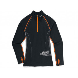 STIHL Advance Funktionsshirt Langarm (schwarz / orange)