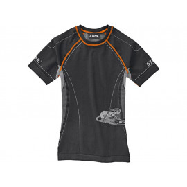 STIHL Advance Funktionsshirt Kurzarm (schwarz / orange)